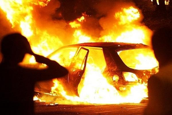 У Бережанах спалили автомобіль заступника Бережанської РДА