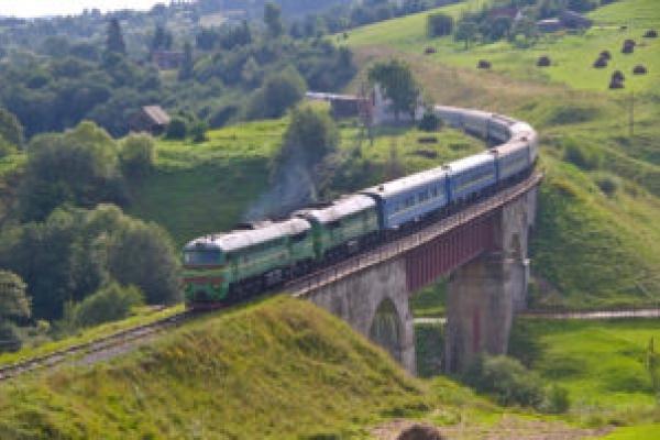 На Тернопільщині горів пасажирський потяг