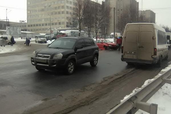 Чергова ДТП на вулиці 15 Квітня (Фото)