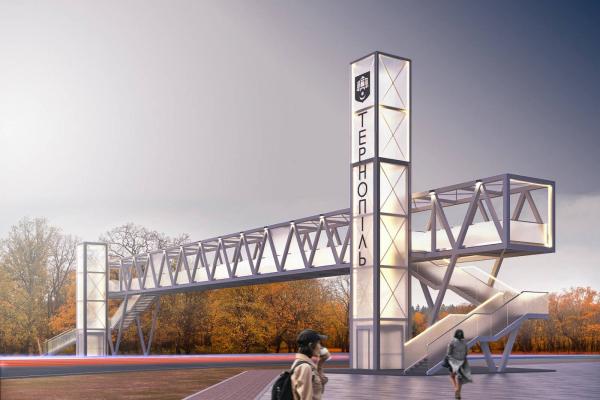 Креатор-Буд розпочав будівництво надземного мосту у Тернополі