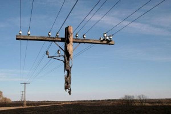 Щоб добро не пропадало: діловиті тернополяни вкрали бетонні електроопори