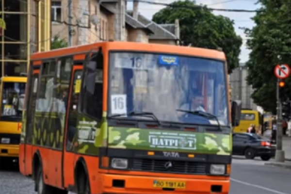 Тернополянин шокований станом маршрутки №16 (відео)