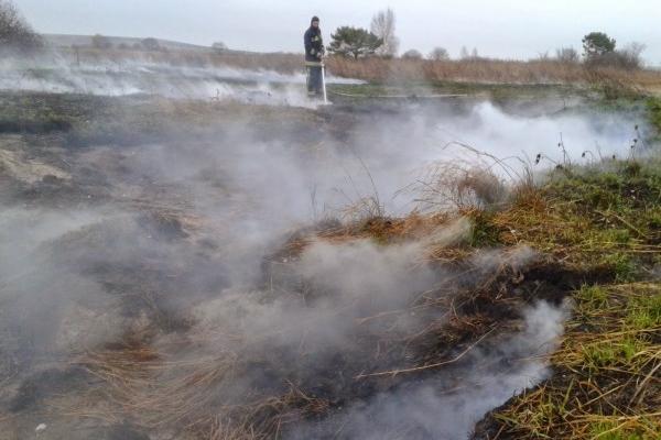 На Кременеччині досі горить торфовисько