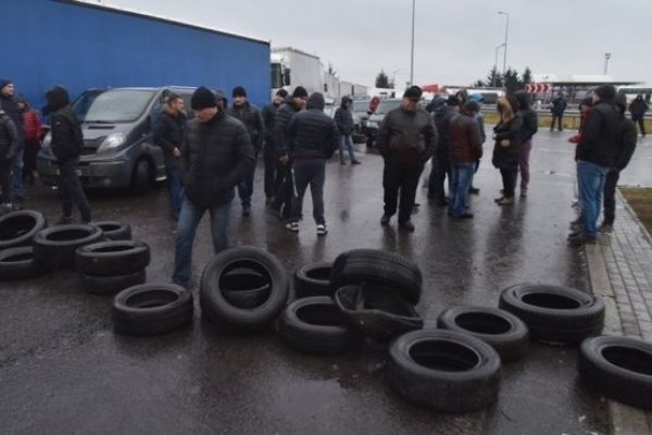 Через «євробляхи» 5 тисяч жителів Тернопільщини можуть залишитися без роботи (Відео)