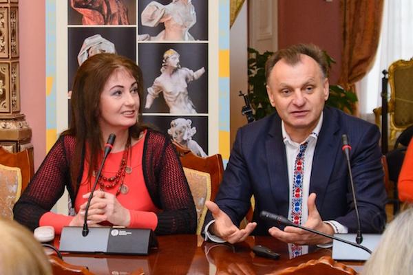 Тернопоняни презентували у Києві проект «Під Зорею Пінзеля. 3D-вимір»