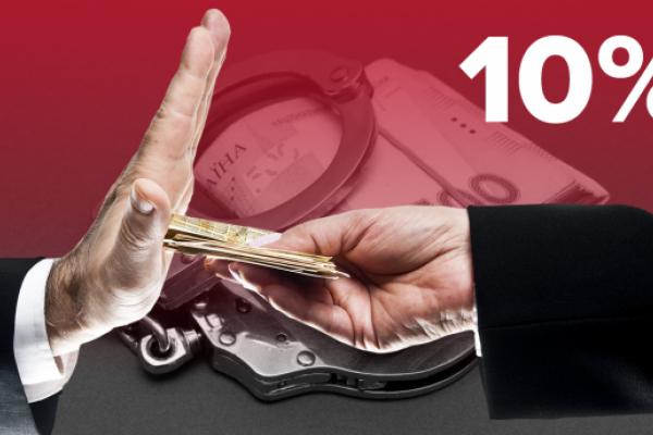 Здай корупціонера і отримай 10% від розміру хабара