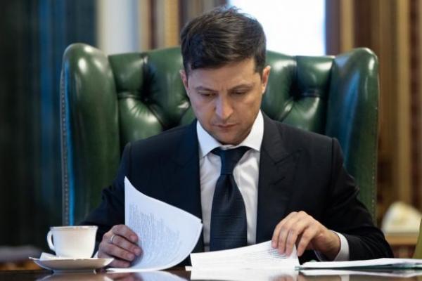 Зеленський подав до Ради пакет законопроєктів про податкову амністію